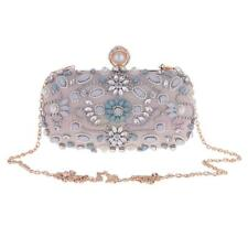 MagiDeal Rhinestone Women Clutch Wedding Evening Bag Purse Handbag Wallets