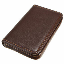 Pop Luxury Mens Leather Business Credit Card Name ID Credit Card Holder Wallet