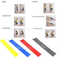 Fitness Equipment Elastic Latex Exercise Resistance Bands Loop Workout Yoga