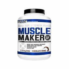 Muscle Maker mass Gainer Giant Sports - Bulking Protein 6lbs Gluten Free