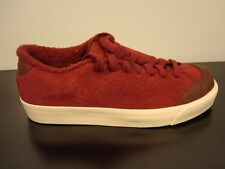NIKE ALL COURT TWIST SUEDE SNEAKERS MENS SIZE 4 WOMENS 6 RED BROWN 417643 600