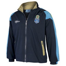 NEW SOUTH WALES BLUES STATE OF ORIGIN NRL 2017 MENS REPLICA TRACK JACKET SOO NSW