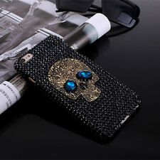 skeleton handmade bling rhinestone phone cover case for iphone6/6s 7 plus M&C