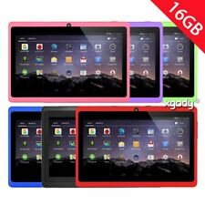 """XGODY 7"""" Quad Core Tablet PC 16GB Android4.4 Multi-Colour Bluetooth WiFi Webcame"""