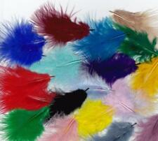 50 Fluffy Soft Rooster Tail Feathers Crafts Card Making Embellishments 10-15cm