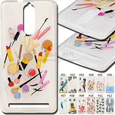 Cute Painted Cover Skin TPU Soft Clear Case Rubber Gel Back For Lenovo K5 Note