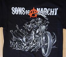 Sons of Anarchy Season 7 TV Show The Grim Reaper Biker T Shirt Mens S-3XL New