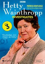 HETTY WAINTHROPP INVESTIGATES - THE COMPLETE THIRD SERIES NEW DVD
