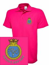 PUSSERS VERY OWN Embroidered Polo Shirts