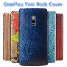 oneplus two case Battery Replacement Back Cover Wood Jeans Back Case Replacement