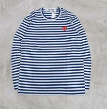 Men's Stripes Comme Des Garcons CDG Play Red Heart Long Women's T-shirts S-XL
