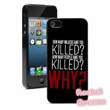 THE WALKING DEAD QUESTION TWD QUOTES Phone Case Cover For iPhone 5 5C 6 6S Plus