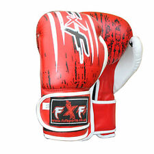 New A.Leather Boxing Gloves MMA Training Muay Thai Fight Punch Bag Sparring Mitt