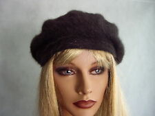 New with tags Ladies Chique French Style Angora Wool Beret choose from 3 colours