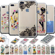 Cute Protection Silicone TPU Rubber Skin Case Soft Back Cover For Apple iPhone