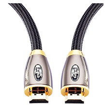 1 Gold High Speed HDMI Cable Length 6 10 20 30 50ft For Xbox Playstation PC Game