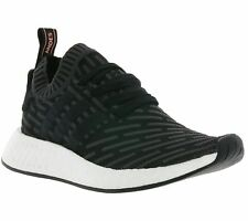 NEW adidas Originals NMD_R2 Primeknit Boost W Shoes Women's Sneaker Black BA7252