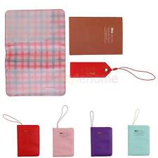 MagiDeal Passport Cover Holder Case ID Card Travel PU Leather Organiser Gift