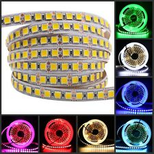 New arrival 5054 led strip 120leds/m flexible led tape brighter 5050 5m DC12V