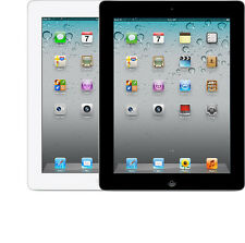 Apple iPad 2nd WiFi + 4G GSM Unlocked AT&T T-Mobile 32GB White Black New Other