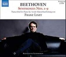 BEETHOVEN SYMPHONIES NOS. 1-9 TRANSCRIBED BY LISZT [BOX SET] NEW CD