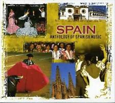 VARIOUS ARTISTS - ANTHOLOGY OF SPANISH MUSIC NEW CD