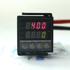 Dual Digital PID Temperature Controller Thermostat SSR Output K Thermocouple New