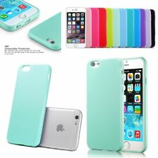 For Apple iPhone 6S 6 Plus 5.5'' Soft TPU Silicone Gel Bumper Back Cover Case