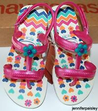 HAVAIANAS Genuine BNWT Toddler Girls THONGS FLIP FLOPS JOY SPRING WHITE Strap