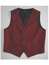 Womens' Red Vest made by Lady Edwards Size Medium All Polyester EUC