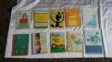 Hallmark Greeting Cards New 2017 Birthday Get Well Thank You Envelopes Various