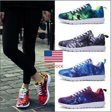 US Mens Womens Fashion Sneakers Sports Casual Running Breathable Athletic Shoes