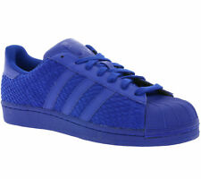 adidas Originals Superstar Shoes Sneakers Trainers Sports Shoes Blue AQ3050