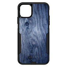 OtterBox Commuter for iPhone 5 SE 6 S 7 8 PLUS X Dark Blue Weathered Wood Grain