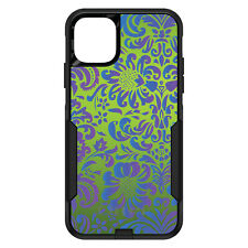 OtterBox Commuter for iPhone 5C 5 SE 6 S 7 8 PLUS Green Purple Blue Floral
