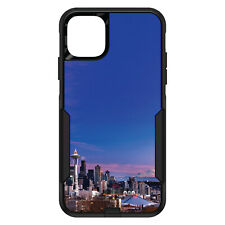 OtterBox Commuter for iPhone 5 SE 6 S 7 8 PLUS X Seattle Skyline Night