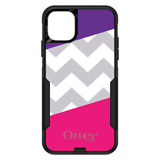 OtterBox Commuter for iPhone 5 SE 6 S 7 8 PLUS X Purple Pink Block Grey Chevron