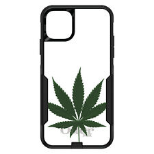 OtterBox Commuter for iPhone 5 SE 6 S 7 8 PLUS X Marijuana Leaf Drawing