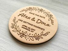 Save the Date Wedding Save the Date Magnets Wedding Announcement Personalized