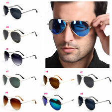 Unisex Women Men Vintage Retro Aviator Eyewear Sunglasses Glasses Shades Glasses