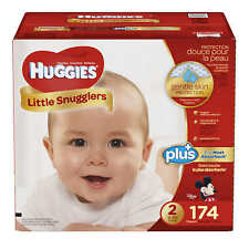 Huggies Little Snugglers Plus or Movers Diapers Case - Pick Size Ct - NEW