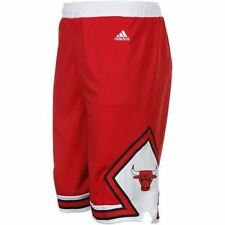 CHICAGO BULLS ADIDAS NBA AWAY TEAM YOUTH RED SHORTS
