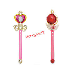 Sailor Moon 20th Tsukino Usagi Glow Stick Rod Musical Magic Wand Cosplay