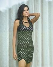 LIPSY SZ 10 12 14 APPLIQUE LACE SWEETHEART BLACK & NUDE BODYCON DRESS BNWT