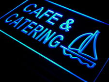 "16""x12"" i495-b Cafe & Catering Restaurant Bar Neon Sign"
