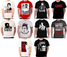 Scarface T Shirt Movie Poster World Is Yours Tony Montana Al Pacino Official
