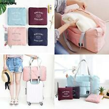 Travel Foldable Luggage Bag Clothes Storage Carry-On Duffle Weekend Bag  Hot