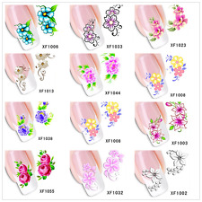 3D Flower Decal Stickers DIY Nail Art Decoration Tips Stamping Manicure Stickers