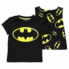 KIDS BOYS JUNIORS CHILDRENS DC COMIC BATMAN TOP T-SHIRT TEE SHIRT