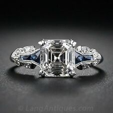 2.45ct White Topaz Women Men Jewelry 925 Silver Wedding Engagement Ring Size6-10